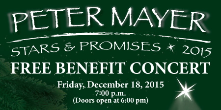 Peter Mayer Stars and Promises Concert